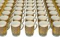 Mugs of beer