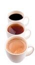 Mugs Of Hot Beverages V Royalty Free Stock Photo