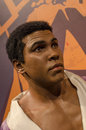 Muhammad ali in the famous wax museum madame tussauds london england Royalty Free Stock Photo