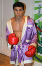 Muhammad Ali at Madame Tussaud's Stock Photo