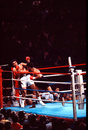 Muhammad Ali v. Leon Spinks Stock Image