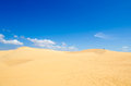 Mui ne flying sand dune famous tourist attraction vietnam Royalty Free Stock Images