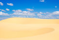 Mui ne flying sand dune famous tourist attraction vietnam Royalty Free Stock Photography