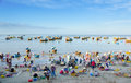 Mui ne vietnam febr mui ne popular tourist attraction vietnam lot fishers sort out their catch shore sell fish to dealers feb mui Royalty Free Stock Image