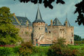 Muiderslot muider castle the is a in the netherlands located at the mouth of the river vecht some kilometers southeast of Royalty Free Stock Images