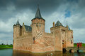 Muiderslot muider castle the is a in the netherlands located at the mouth of the river vecht some kilometers southeast of Stock Image