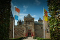 Muiderslot muider castle the is a in the netherlands located at the mouth of the river vecht some kilometers southeast of Royalty Free Stock Photo