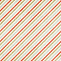 Mulitcolored Shabby Striped Ch...