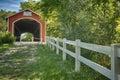 Mull covered bridge Royalty Free Stock Photo