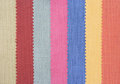 Multi color fabric texture samples Stock Images