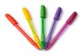 Multi-colored ball pens
