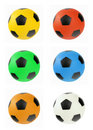 Multi colored balls Royalty Free Stock Photos