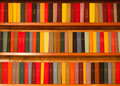 Multi-colored books Stock Photography