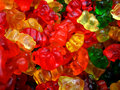 Multi Colored Gummi Bears Royalty Free Stock Photography