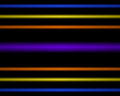 Multi colored neon light lamp straight horizontal lines lamps Stock Photo