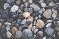 Multi Colored Pebbles rocks Backgrounds Concept Royalty Free Stock Photo