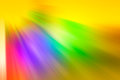 Multi colored rays dim of different colors blue red orange green purple Stock Photos