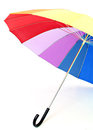 Multi-colored umbrella Stock Photos