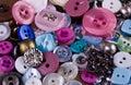 Multi-coloured button Royalty Free Stock Photo