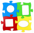 Multi-coloured framework Royalty Free Stock Photo