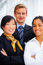 Multi-ethnic business portrait Royalty Free Stock Image