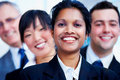 Multi-ethnic business portrait Royalty Free Stock Photo