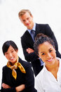 Multi-ethnic business portrait Stock Image