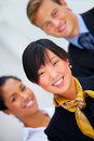 Multi-ethnic business portrait Royalty Free Stock Photos