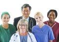 Multi-Ethnic Group of Doctors