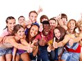 Multi-ethnic group people. Stock Photos