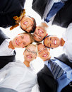 Multi-ethnic group portrait Royalty Free Stock Photo