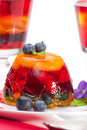 Multi-fruit jelly Stock Photos