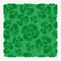 Multi-layered clover repeat pattern Royalty Free Stock Image