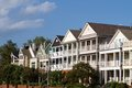 Executive Townhomes Royalty Free Stock Photo