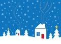 Multi-Lingual Textual holiday card Stock Photos