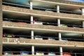 Multi storey car park Stock Images