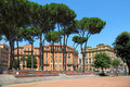 Multi-storey houses in Rome Stock Photos