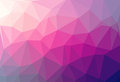 Multicolor abstract geometric rumpled triangular low poly style illustration