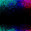 Multicolor abstract lights disco background Royalty Free Stock Photo