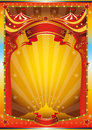 Multicolor circus poster Stock Photo