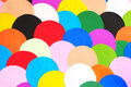 Multicolor of curve paper useful for background Royalty Free Stock Photo