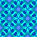 Multicolor geometric pattern in bright blue vector seamless texture for web print wallpaper home decor textile christmas gift Royalty Free Stock Photos
