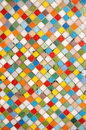 Multicolor mosaic Royalty Free Stock Image