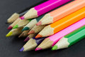 Multicolor pencils Royalty Free Stock Image