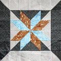 Multicolor Quilt Square Stock Photography