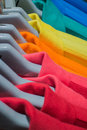 Multicolor sport shirt Royalty Free Stock Photo
