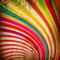 Multicolor Sunbeams grunge Stock Photo