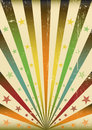 Multicolor Sunbeams grunge background Royalty Free Stock Images