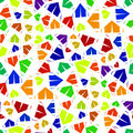 Multicolor tent seamless pattern