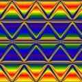 Multicolor triangle neon rainbow background, Multicolor neon glow background
